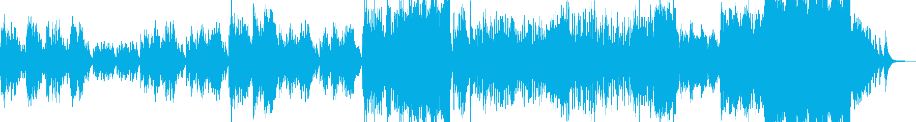 姫チックなワルツ・ストーリー的な展開 Cの再生済みの波形