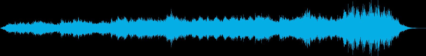 宇宙を感じさせる壮大な電子アンビエントの再生済みの波形