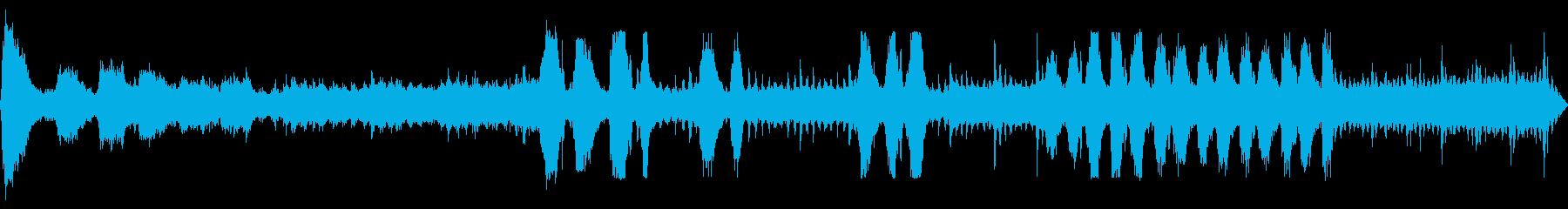 パドルホイールリバーボート:スチー...の再生済みの波形