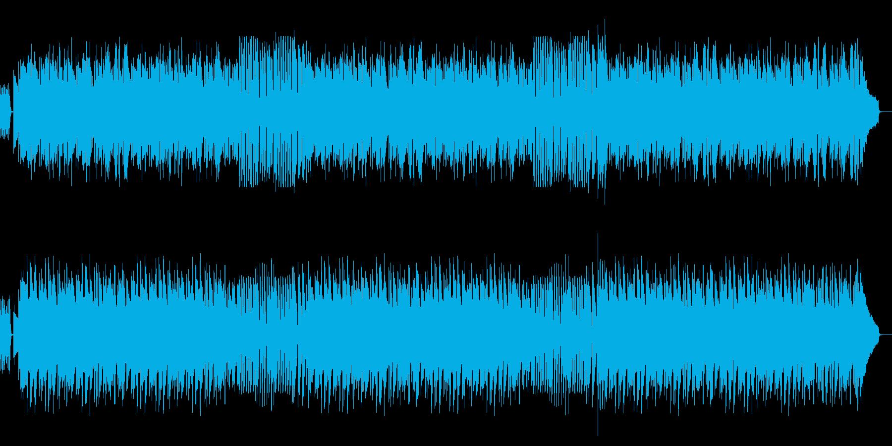 お料理番組っぽいシンプルなピアノソロの再生済みの波形