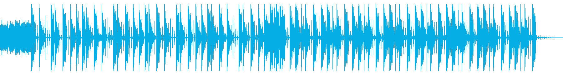 146 BPMの再生済みの波形