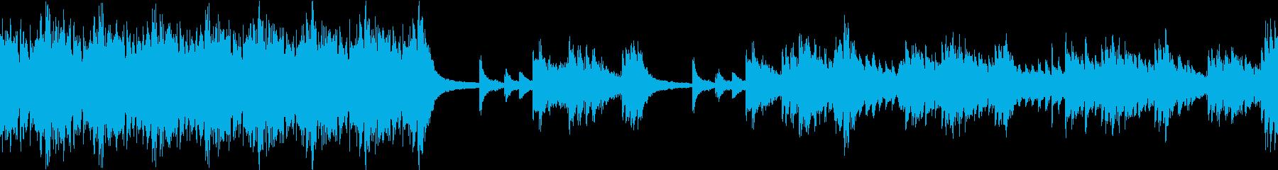 【ループ】かっこいいファンタジー系戦闘曲の再生済みの波形