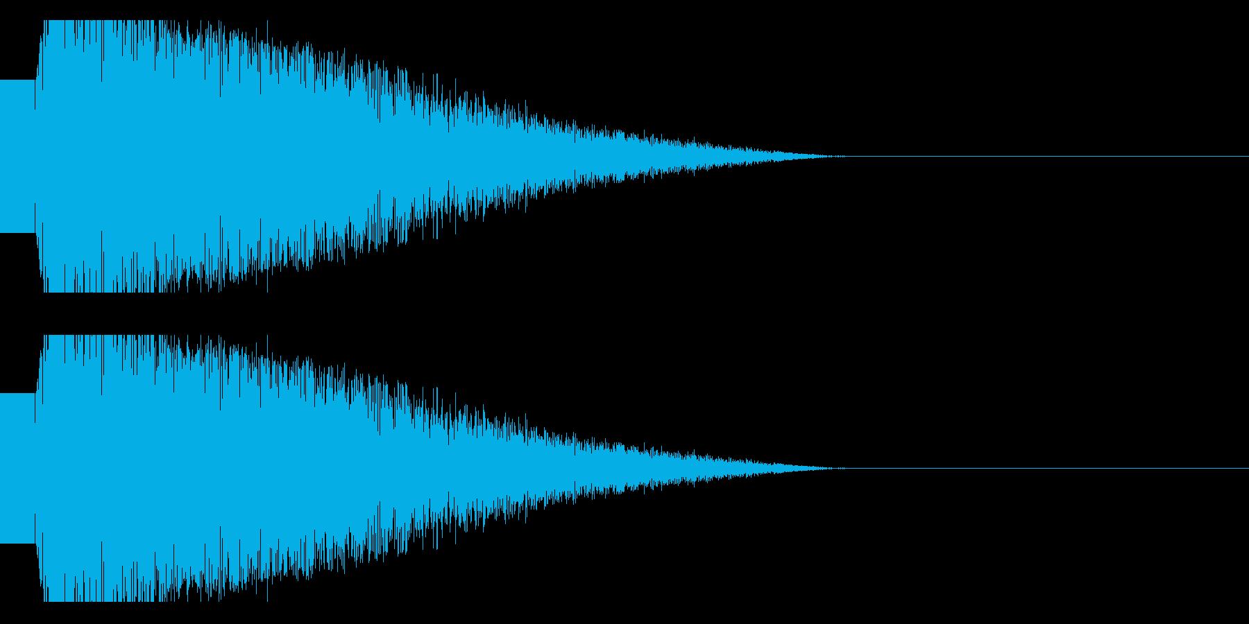 ビームライフル発射音 タイプ4(ショートの再生済みの波形