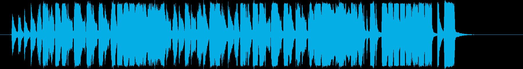 【生演奏】皆さん一緒に大行進! ジングルの再生済みの波形