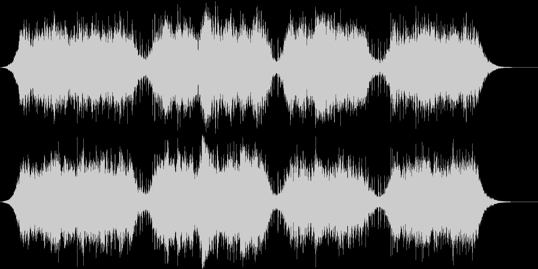 アンビエントなパッド系BGMの未再生の波形