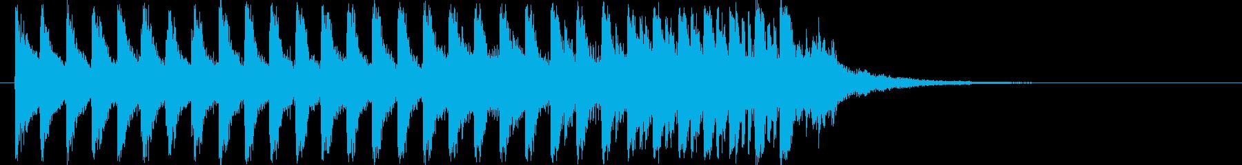 個性的和風ヒップホップ!琴・三味線・尺八の再生済みの波形
