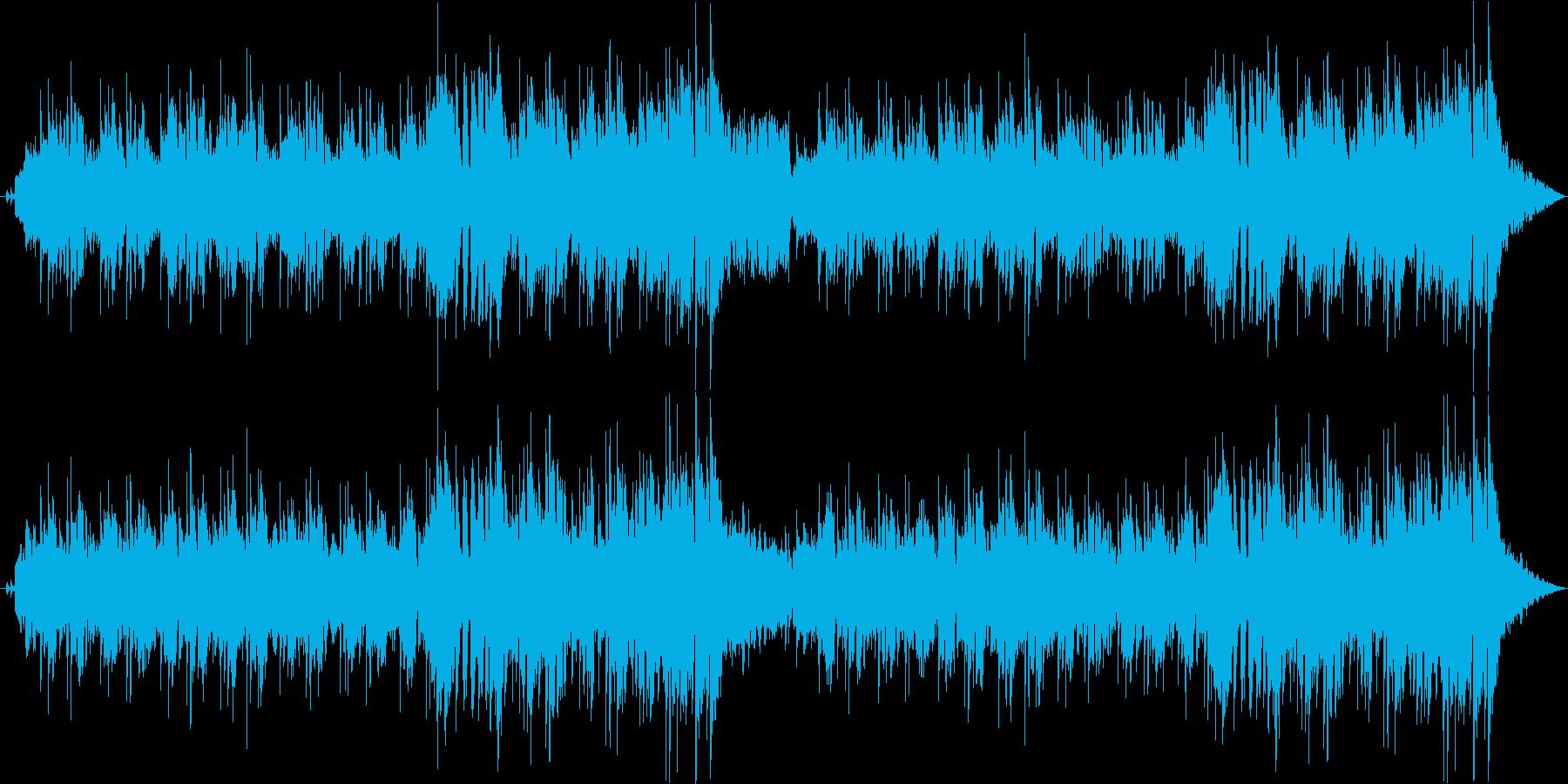 ソフトタッチなメロウで優しいフュージョンの再生済みの波形