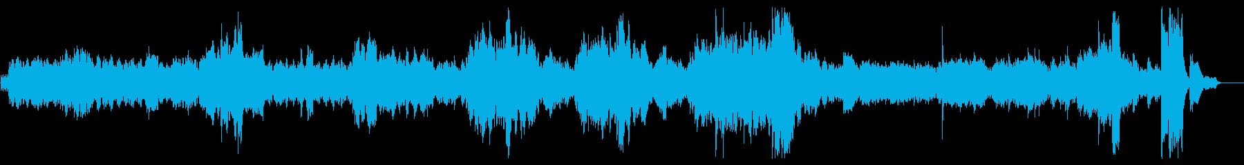 ショパンの名曲ですの再生済みの波形