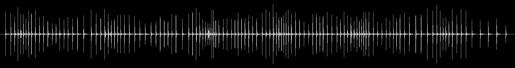 釣りリール:メカニズムの長い風、釣りの未再生の波形