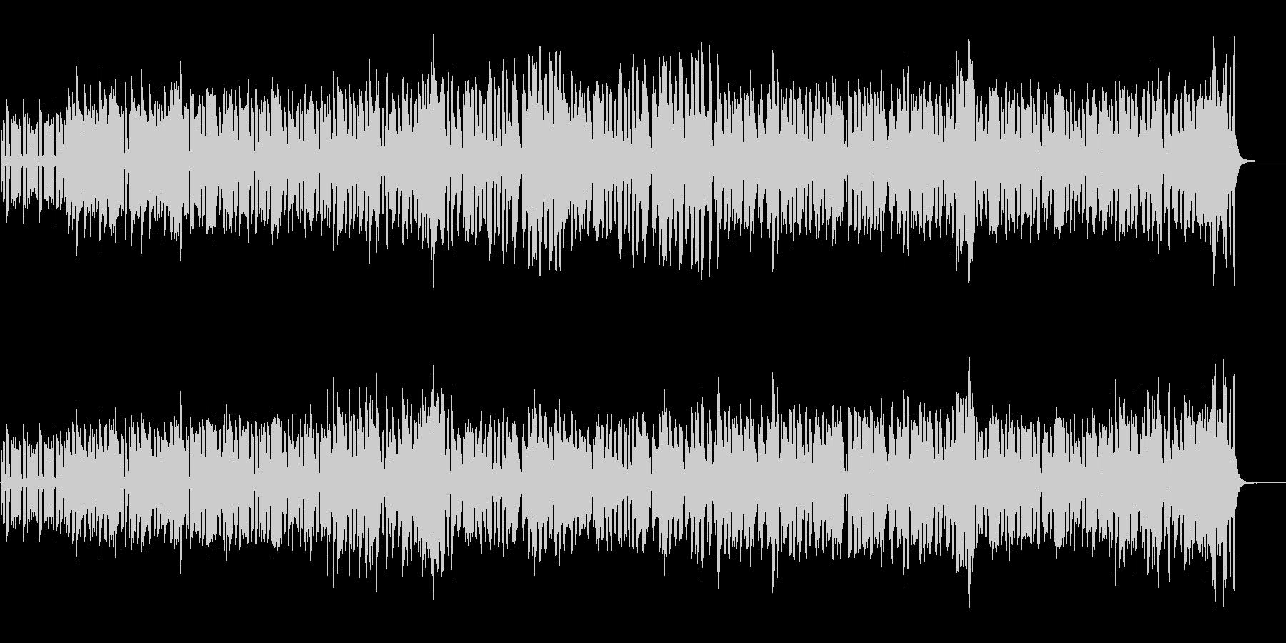 エレピとバイオリン、バンドネオンのタンゴの未再生の波形