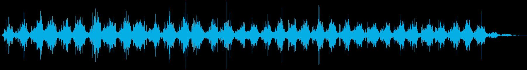 歯磨きする音 しっかり(シャカシャカ…)の再生済みの波形