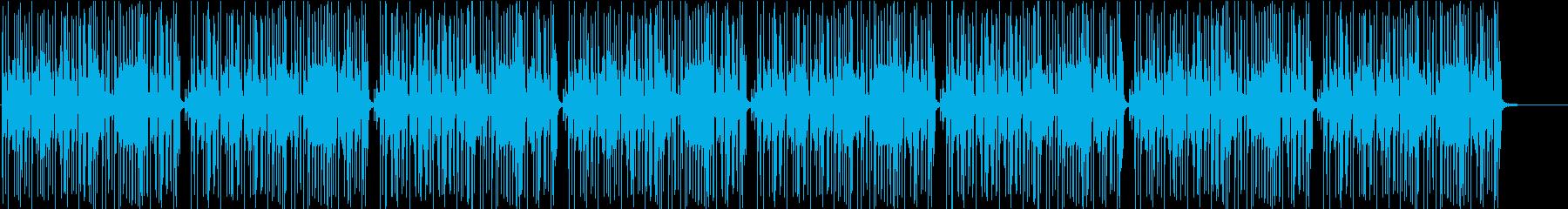 日常コメディーBGM〜ワウベース編〜の再生済みの波形