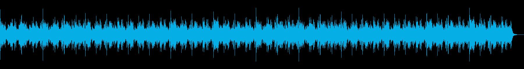 スキャットが響くバラードの再生済みの波形