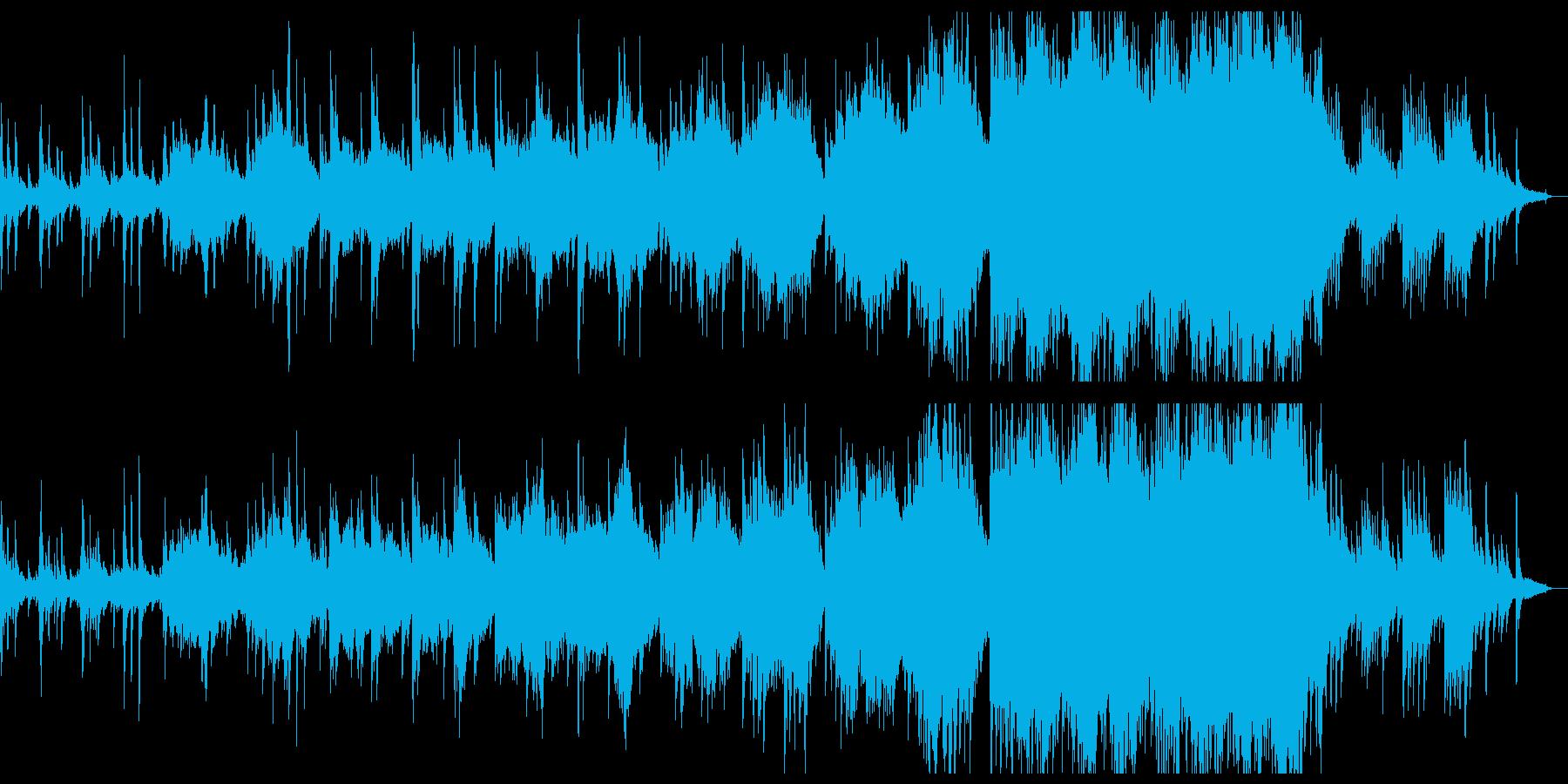 郷愁と感動的なピアノシネマシンフォ。の再生済みの波形
