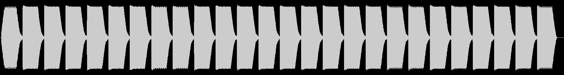 コンピューター 計算、解析音の未再生の波形