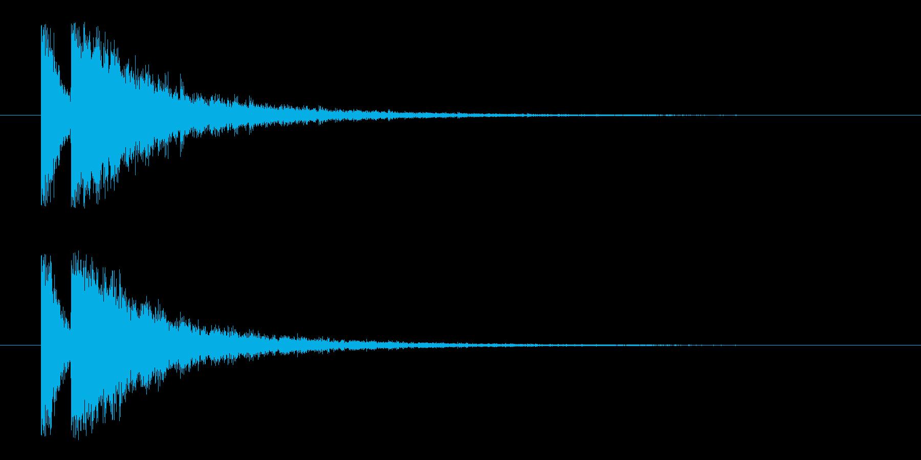 ビームライフル4★エコーリバーブ有の再生済みの波形