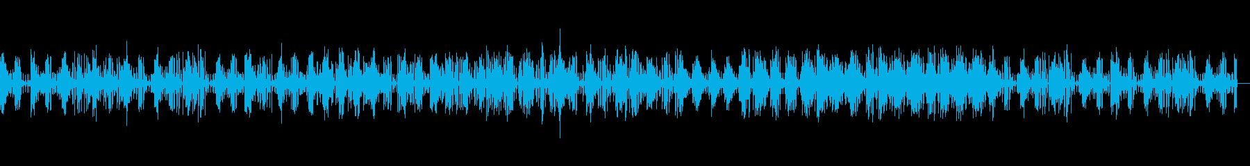 おしゃれでわくわくするメロディーの再生済みの波形