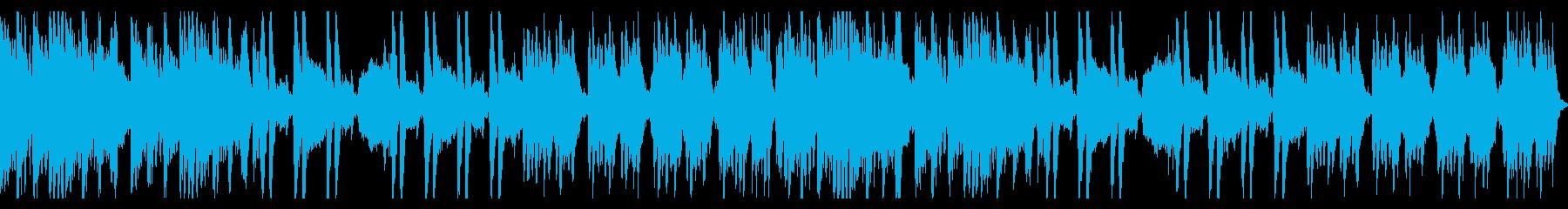 コミカルで魔法的テンポが速いオーケストラの再生済みの波形