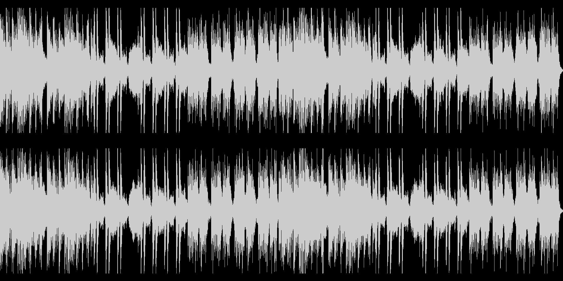 コミカルで魔法的テンポが速いオーケストラの未再生の波形