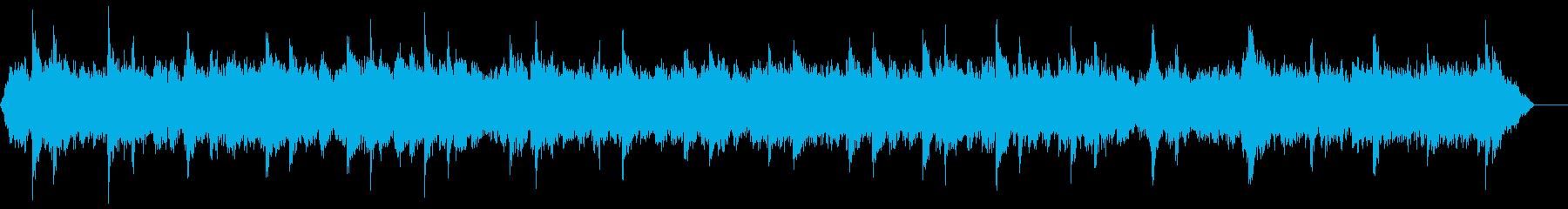 大聖堂の鐘の再生済みの波形