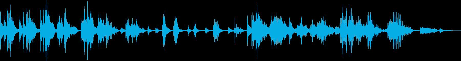 歪んだ愛情(ピアノソロ・悲劇的・悲しい)の再生済みの波形