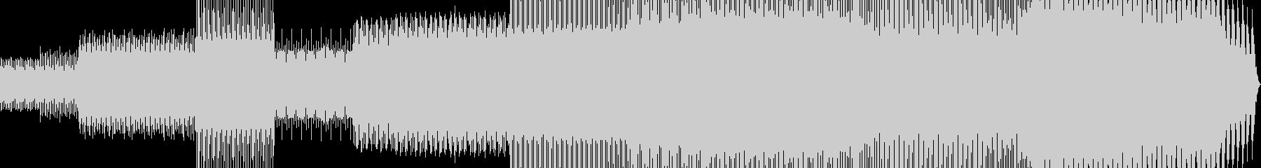 ダンス-ハウス大型フィルターと大型...の未再生の波形