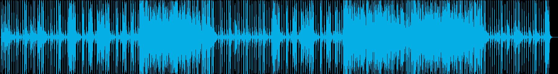爽やかなエレピポップの再生済みの波形