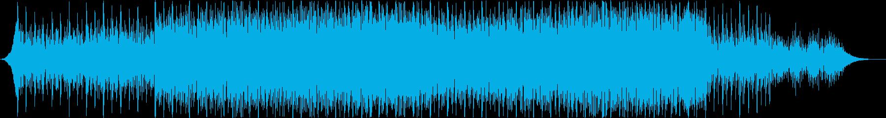 EDM映画やアニメのシリアスな場面向けの再生済みの波形