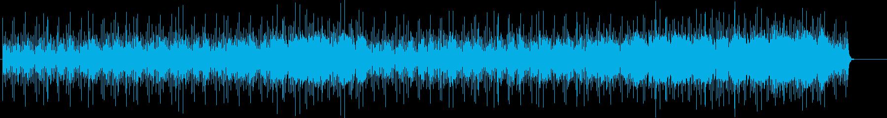 リゾート情報向けポップ/BGの再生済みの波形