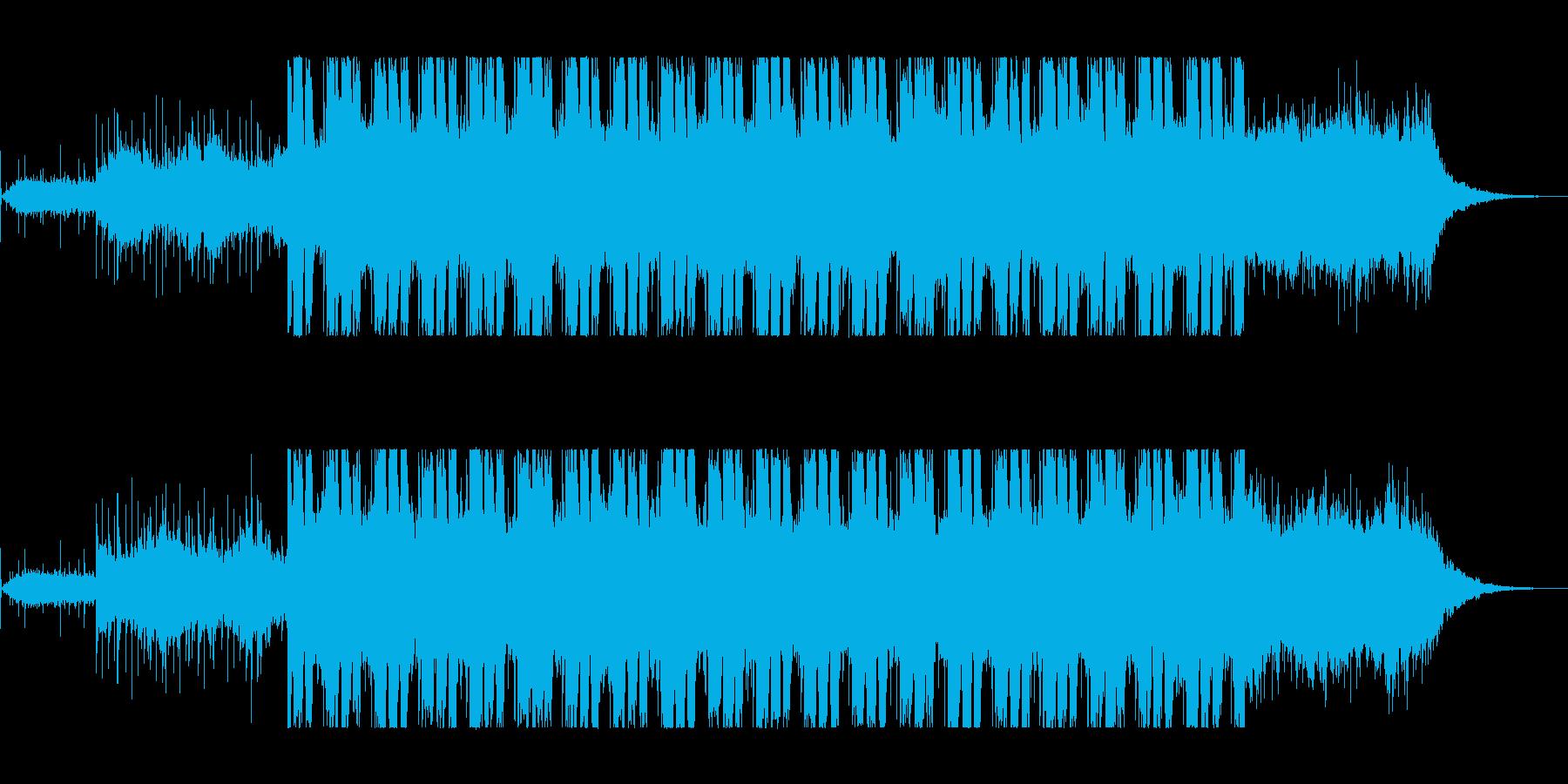 まろやかでマイナ―なシンセサウンドの再生済みの波形
