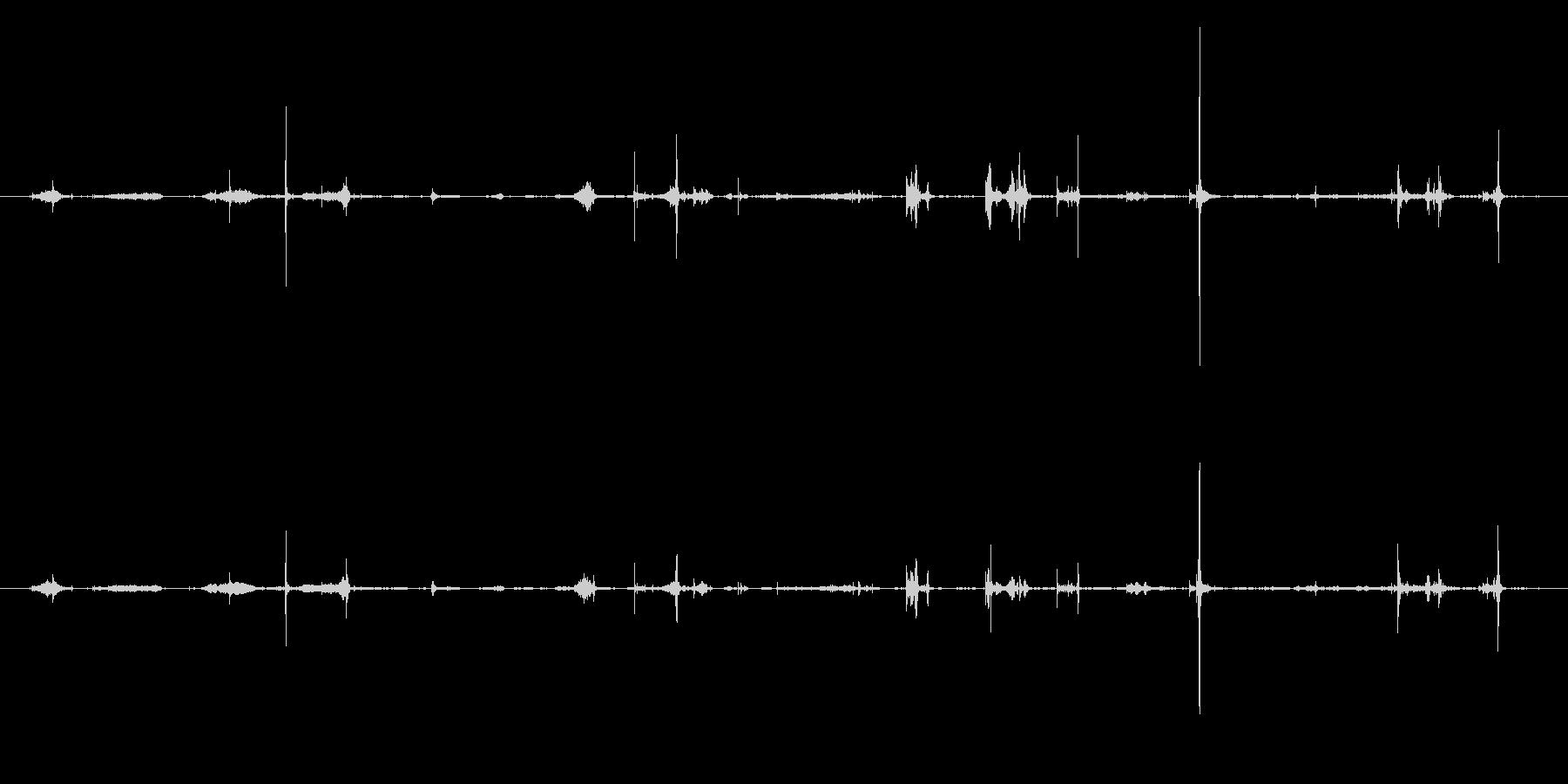 紙 トランプハンドル03の未再生の波形