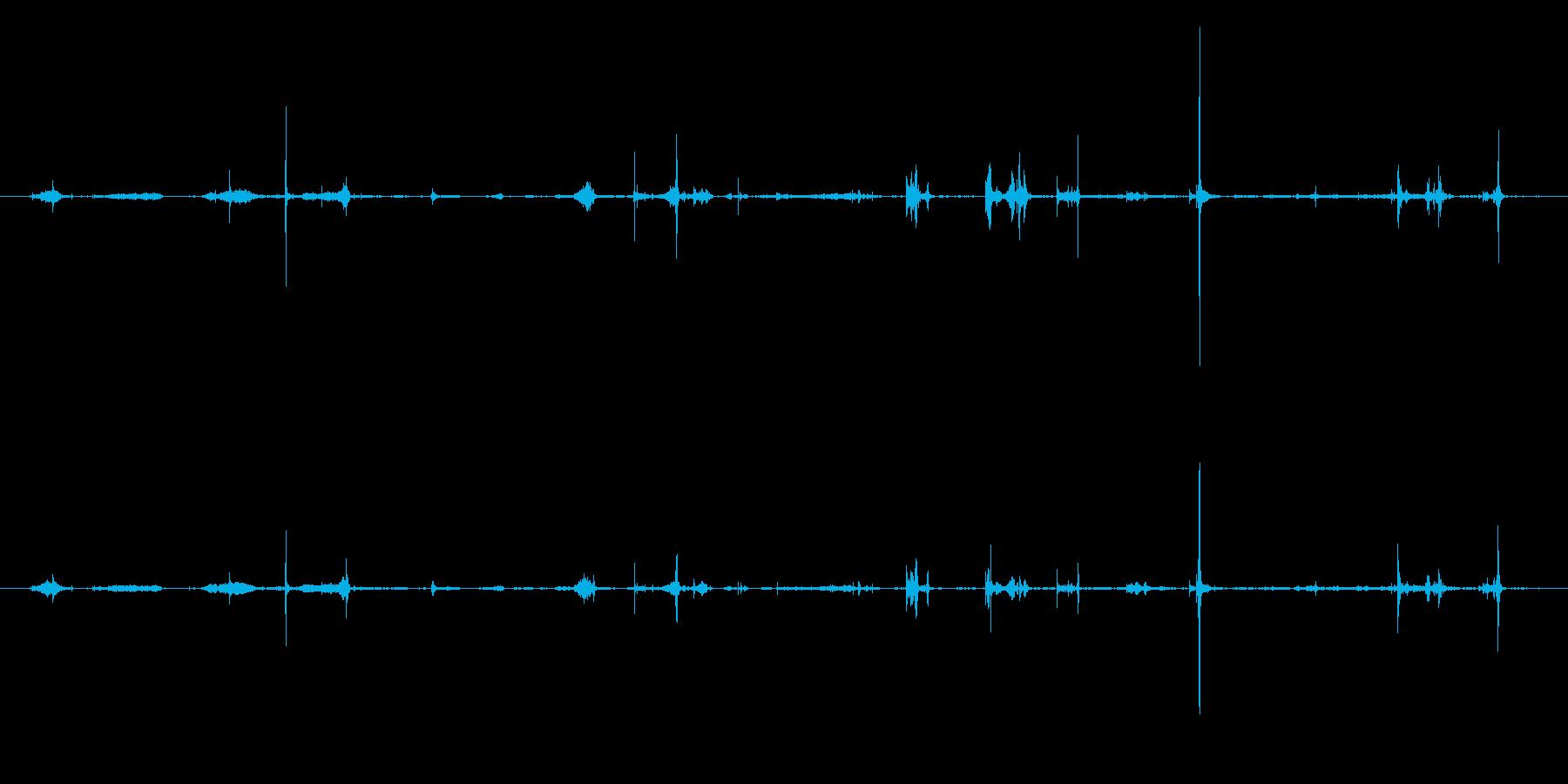 紙 トランプハンドル03の再生済みの波形