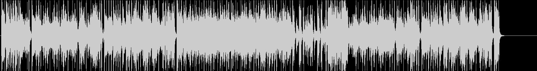 ジャズ風のまったりしたBGM。の未再生の波形