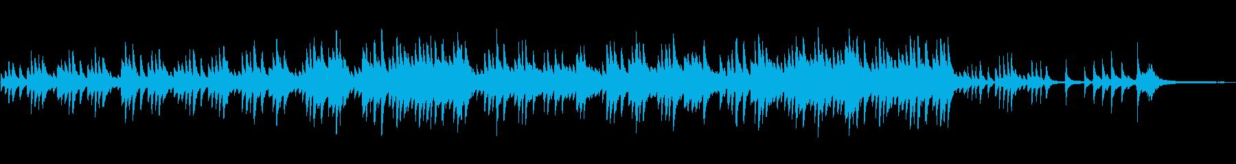 癒し系ソロピアノ定番あるある哀愁メロディの再生済みの波形