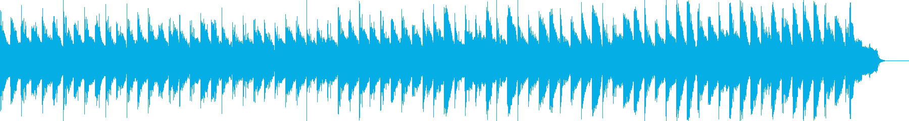 切ない雰囲気のアコギピアノストリングスの再生済みの波形