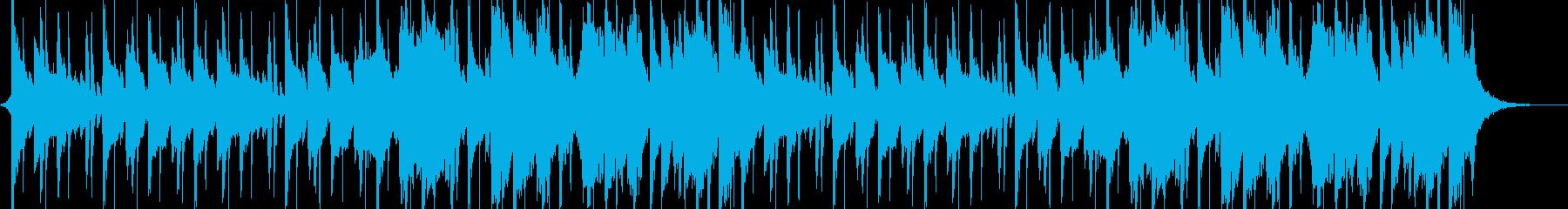 艶美な感じのジャズホップの再生済みの波形