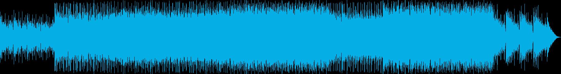 底抜けに明るいキラキラトロピカルポップの再生済みの波形