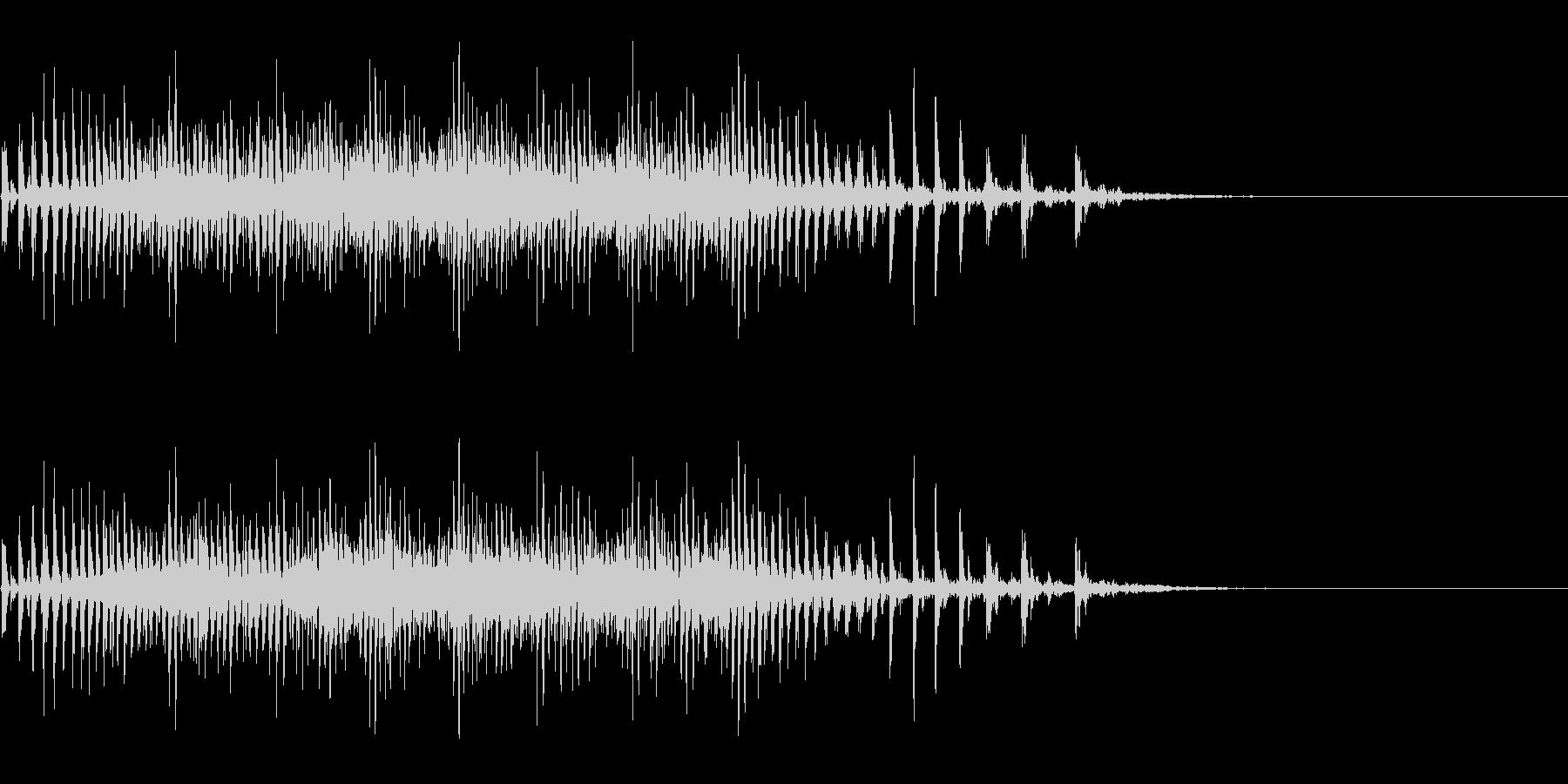 [生録音]魚釣り、リールを巻く11の未再生の波形