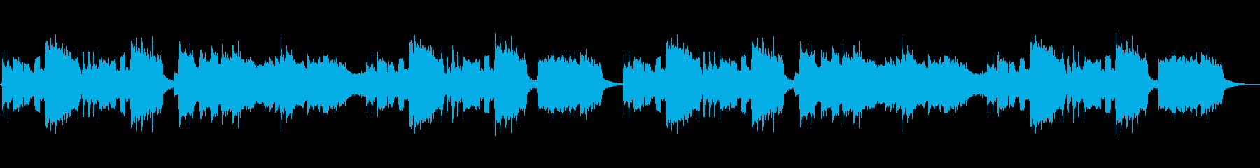 クラリネットが印象的なアニメ風ジングルの再生済みの波形
