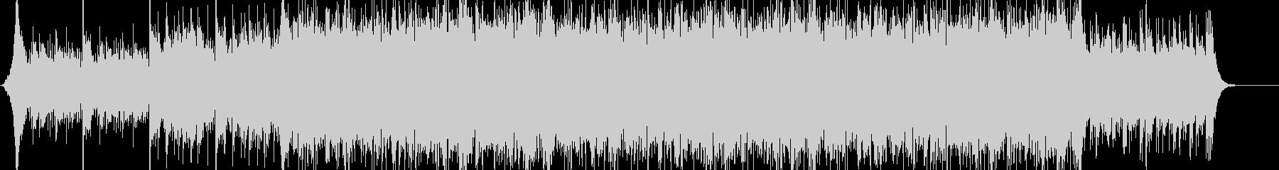 サスペンス系 スリリングで緊迫した曲の未再生の波形