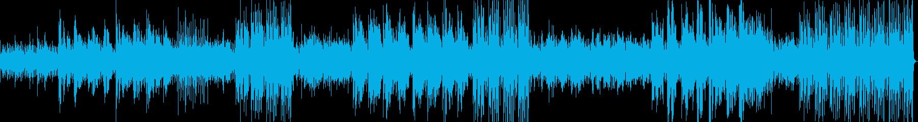 ソロボーカルとアコースティックギタ...の再生済みの波形