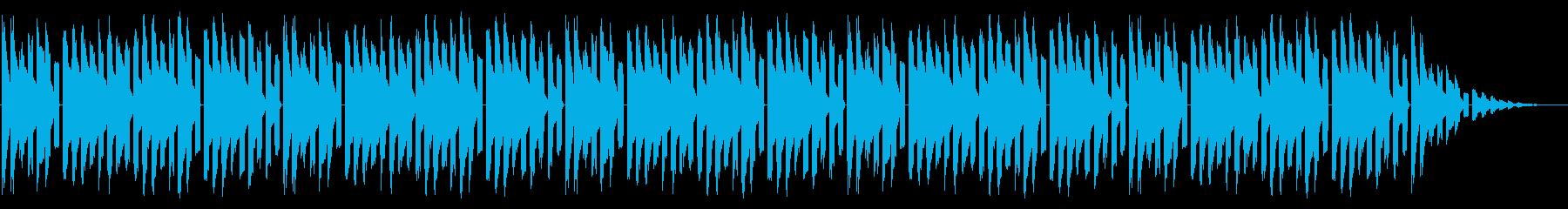 GB風RPGのタイトル曲の再生済みの波形