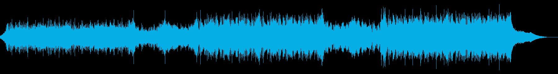 シネマティックなアンビエントテクスチャーの再生済みの波形