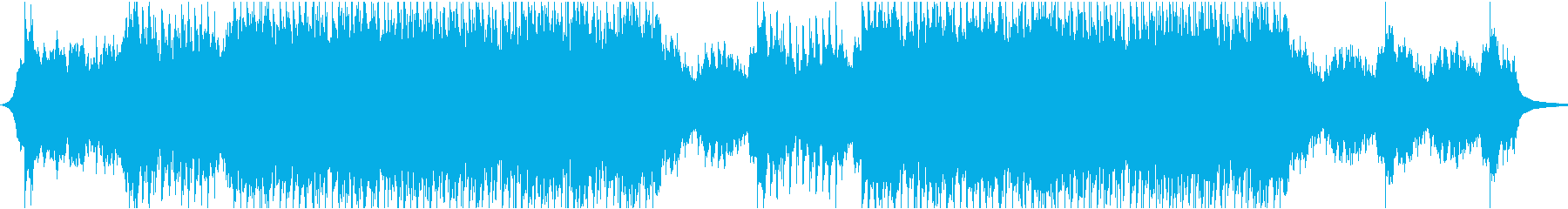 幻想的なEDMの再生済みの波形