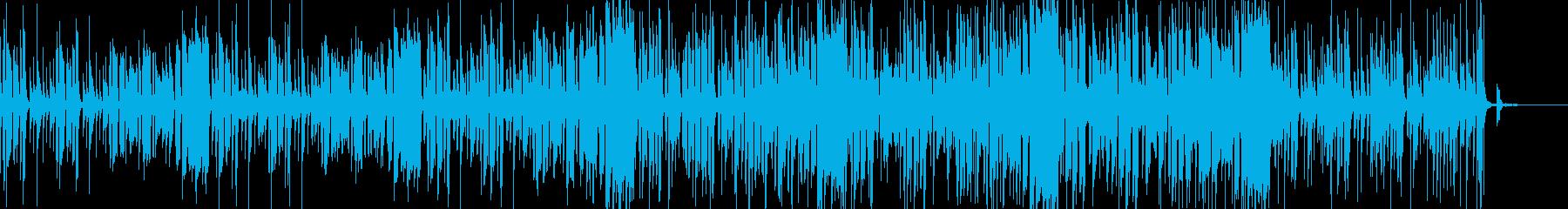 リコーダーと箏のかわいい和風popの再生済みの波形