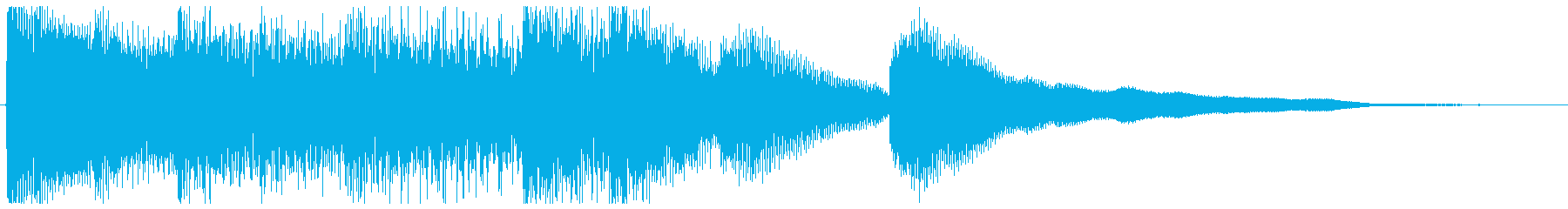Created with sound logo and piano solo's reproduced waveform