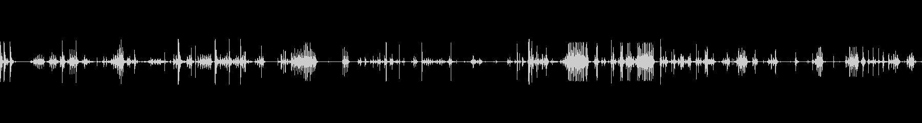 ホイップケーブルヘビースピンbの未再生の波形