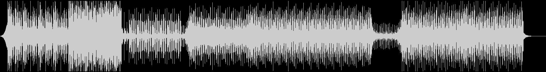 スタイリッシュなトロピカルハウスの未再生の波形