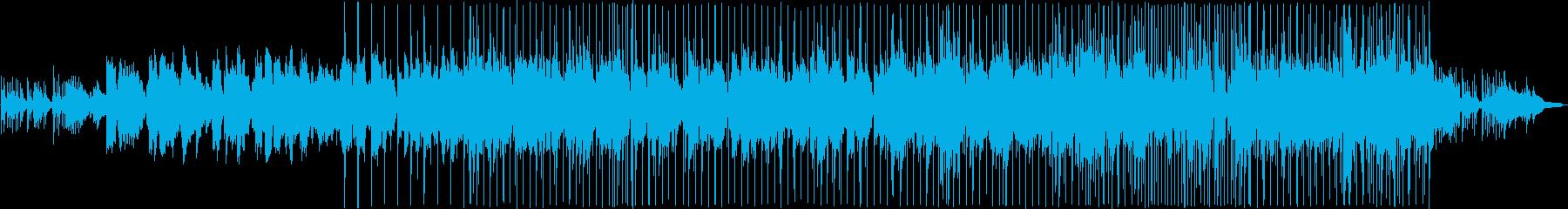 優しい雰囲気のバラード8の再生済みの波形