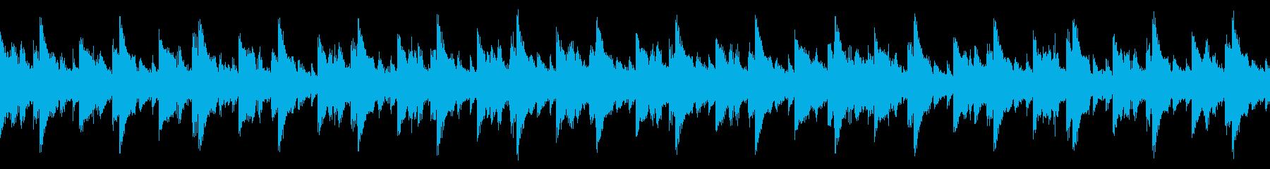 キラキラ輝く雰囲気のエレクトロポップの再生済みの波形